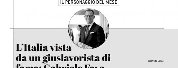 """L'Avvocato Gabriele Fava ospite sul mensile """"Realtà Industriale UDINE"""""""
