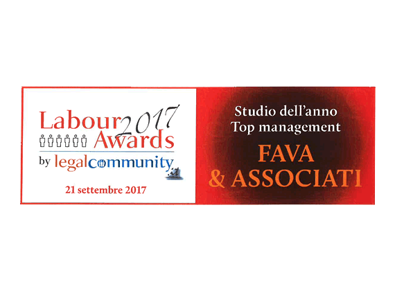 Studio dell'anno Top Management