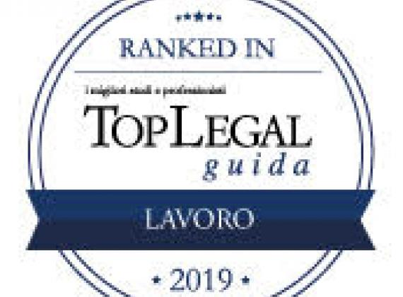 TopLegal RANKED IN 2019